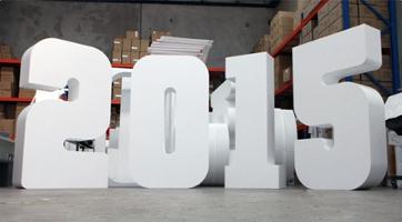 Как сделать объёмные буквы из пенопласта своими руками 7