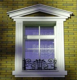 наличники из пенопласта на окна фото